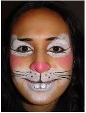 Small Picture 17 best Rabbit face paint HOP images on Pinterest Face