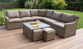 luxury wicker garden furniture how to choose and arrange for t c g rattan sofa set your fishpool