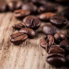 coffee beans. Exellent Coffee Whole Organic Coffee Beans 1kg Inside