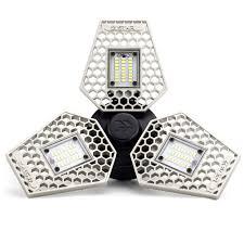 Trilight Motion Activated Garage Ceiling Light