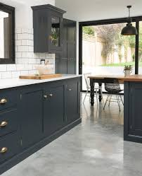 Concrete Floors Kitchen East Dulwich Kitchen Devol Kitchens Home Kitchen Pinterest