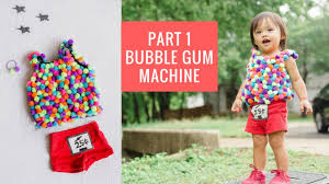 gumball bubble gum machine diy costumes ideas for toddlers