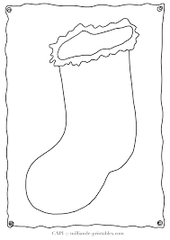 christmas coloring page stocking milliande s christmas blank christmas stocking template from our christmas coloring pages