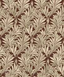 Floral Brocade Abstract Ornamental Leaf Texture Floral Brocade Seamless Background