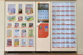Singapore Vending Machine Adorable Petrol World Branded Convenience Vending Machine Food Service Set