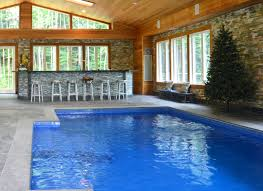 indoor pool bar. Sweet Home Design Inside Pool With Swimming Area Along Gray Bar Latest Indoor