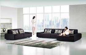 AE L2002L Contemporary Fabric Sofa American Eagle Furniture