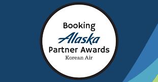 Booking Alaska Partner Awards Korean Air Pointsnerd