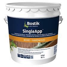 bostik singleapp brown flooring adhesive flooring adhesive 4 gallon