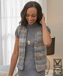 Free Knitted Vest Patterns Beauteous Simply Styled Vest Easy Free Knitting Pattern ⋆ Knitting Bee