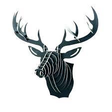 faux animal heads metal wall art head decor 1 piece inch style nz
