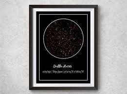 Star Chart Of A Certain Date Star Map Download Constellation Chart Custom Star Map Our