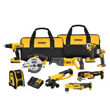 dewalt power tools catalogue. dewalt 20-volt max lithium-ion cordless combo kit (9-tool) dewalt power tools catalogue d