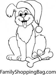 Small Picture Christmas Puppy Christmas Coloring Pages Free Printable Ideas