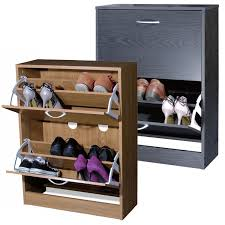 shoes furniture. TWO DRAWER SHOE STORAGE CABINET CUPBOARD WOODEN FURNITURE FOOTWEAR STAND RACK UNIT Shoes Furniture O