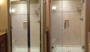 swinging glass shower door cleaner best cleaner for glass shower doors fascinating best way to clean