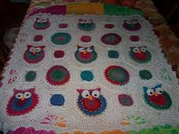Crochet Owl Blanket Pattern Free Simple Owl Obsession
