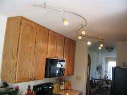 track lighting kitchen. Kitchen:Kitchen Track Lighting Menards Led Ideas Galley Ceiling Lowes Inspiring Made Of Silver Metal Kitchen 4