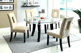 inch round kitchen table dining tables glass inspiring room rou