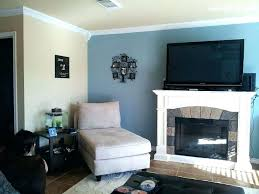 blue wall living room blue accent wall living room blue gray accent wall in living room