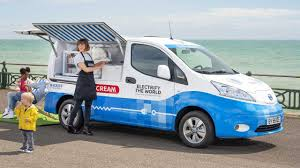 Nissan Has Served Up A Treat With This Electric <b>Ice Cream</b> Van