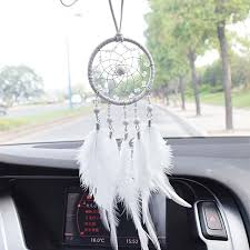 Dream Catcher For Car Mirror Delectable Car Interior Accessories Ornaments Hanging Handmade Dream Catcher