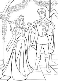 Small Picture Sleeping beauty coloring pages with prince phillip ColoringStar
