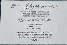 Wedding And Reception Invitation Photo Album Gallery Wording
