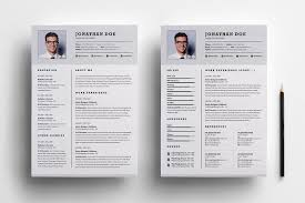 Resume Format 2 Pages Resume Template For Pages Pixtasyco 17