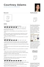 Nutritionist Resume samples - VisualCV resume samples database