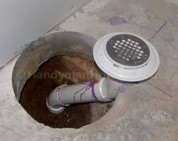 How to Finish a Basement Bathroom: Shower Drain Rough-in