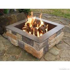 patio with square fire pit. Square Outdoor Fire Pit Designs Grill Ideas Patio With F