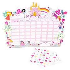 Fairy Unicorn Reward Chart With Pen Stickers