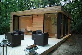 backyard office prefab. initstudiosu0027 prefab garden house is a modern small space tucked away in the forest backyard studiogarden office
