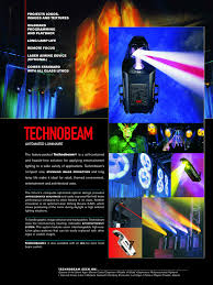 Technobeam Light Handleiding High End Technobeam Manualzz Com