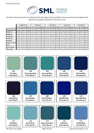 Bs381c Colour Chart Sml Marine Paints