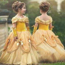 Halloween Magnificence and The Beast Costume Princess Belle ...