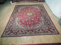 wondrous 10 by 13 rugs red blue handmade rug charming isfahan quality x persian