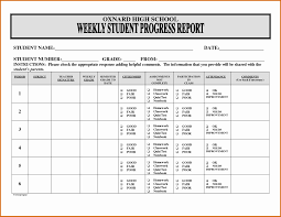 Printable Progress Reports For Elementary Students School Progress Report Template Capriartfilmfestival