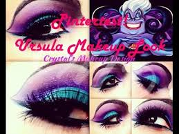 pintertest ursula makeup tutorial