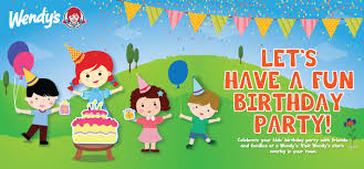 wendy s birthday party wendy s catering big order field trip education program gift voucher diskon up to 50 with bank mega credit