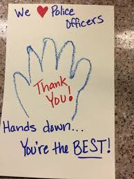 At Your National Night Out Party Get Kids To Write Thank You