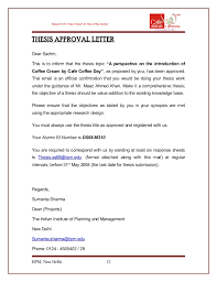 Sample Proposal Letter For Coffee Vending Machine Custom Cafe Coffee Day Thesis Sachin Ds48m48