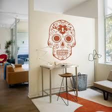 Mexican Home Decor Aliexpresscom Buy Mexican Sugar Skull Wall Art Stickers Home