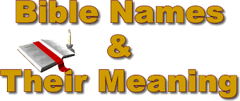 Names That Mean Dream Catcher Bible names and Their Meanings 59