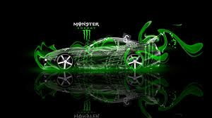 monster energy toyota supra fantasy green plastic car