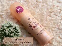essence stay all day 16h long lasting makeup review photos
