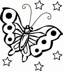 color page for kids. Brilliant For Printable Butterfly Coloring Pages For Kids With Color Page L