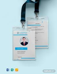 Id Card Templates Free Free Modern Id Card Template Word Psd Indesign Apple