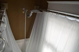 clawfoot tub shower curtain improvement shower curtain rod for clawfoot tub you